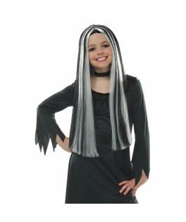 Perruque veille sorcière Halloween