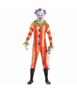 combinaison integrale clown halloween