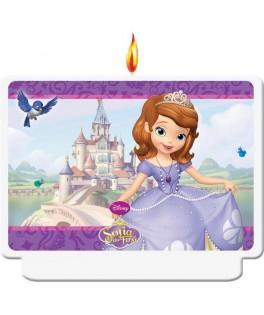 bougie anniversaire princesse sofia