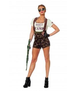 deguisement bootcamp militaire femme