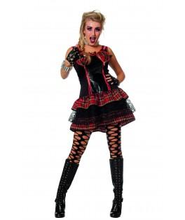 deguisement femme punk chic