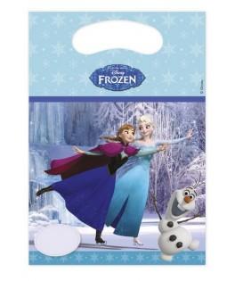 sacs cadeaux reine des neiges