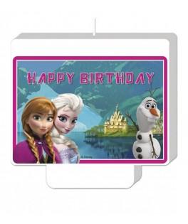 bougie anniversaire reine des neiges