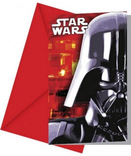 invitations anniversaire star wars