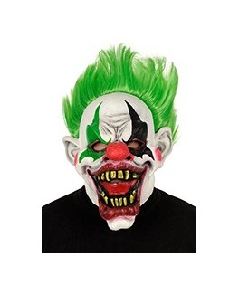 masque de clown halloween