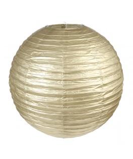 lanterne papier or 30 cm