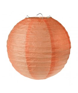 lanterne papier corail 20 cm