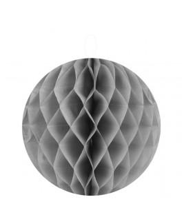 Boule alvéolée grise 10 cm