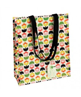 sac cabas shopping tulipe
