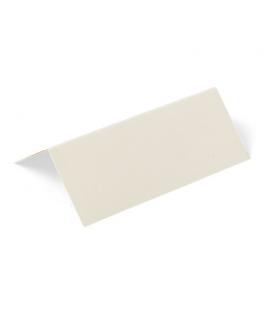 Etiquettes marque-places carton ivoire  x10