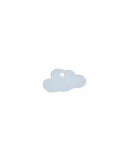 Etiquettes nuage blues