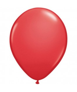 Ballons rouges latex