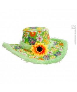 chapeau hippie ibiza vert