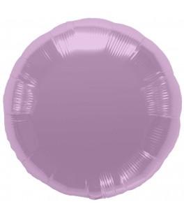 Ballon mylar rond parme