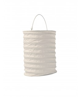 lampion papier ivoire