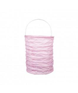 lampion papier rose