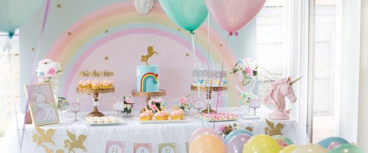 Licornes & Arcs-en-ciel sont de la fête !
