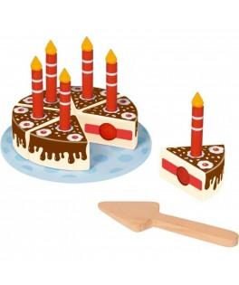 Kit en bois à découper Gâteau 7 Copains