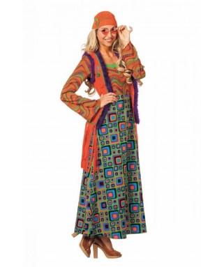 Deguisement Robe longue Hippie
