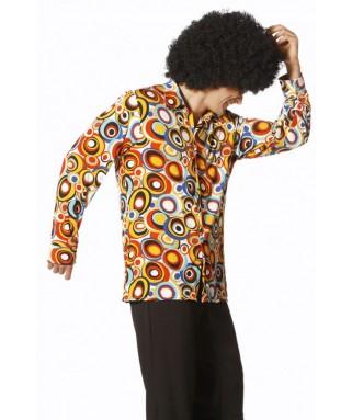 Deguisement Chemise Disco Homme