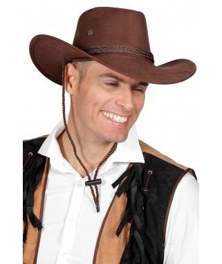 Chapeau de Cowboy feutre marron