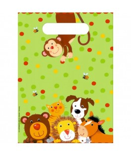 Pochettes Cadeaux Animaux de la Jungle