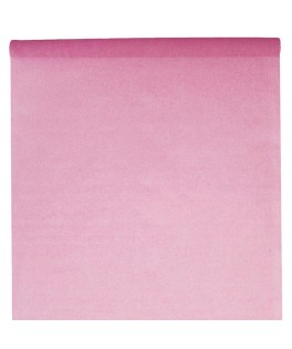 Nappe rectangulaire rose