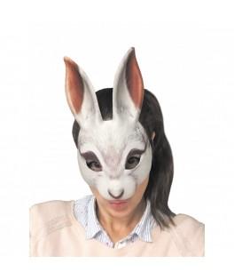 Masque réaliste Lapin Blanc