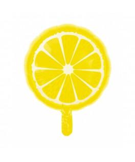 Ballon Citron métallisé