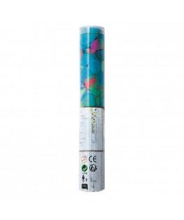 Canon à confettis ronds multicolores