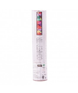 4 Canons à confettis multicolores 10,5 cm