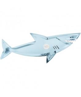 4 Plateaux Requin sous la Mer