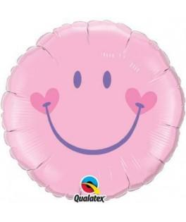 Ballon Emoji rose - 46 cm
