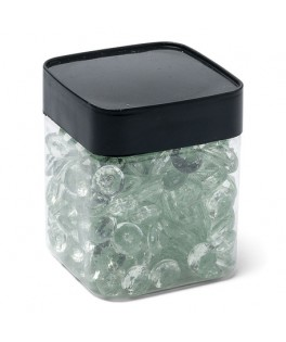 Pot mini diamants menthe