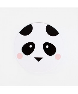 8 Invitations Mini Panda