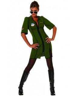 Déguisement Pilote de Jet Femme