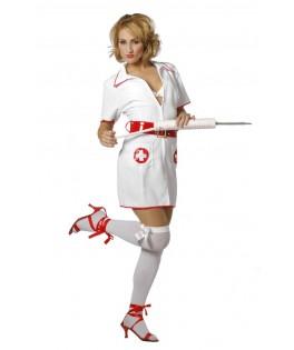 Déguisement robe infirmière sexy femme