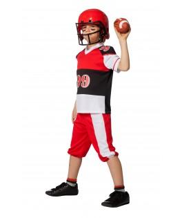 Casque Football américain rouge enfant