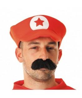 Casquette Mario rouge