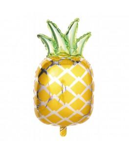Ballon Ananas  métallisé