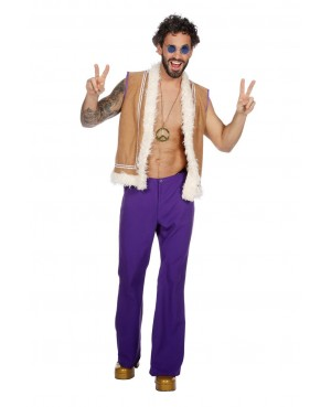 Déguisement Homme Hippie Groovy