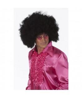 Perruque Disco Afro noire