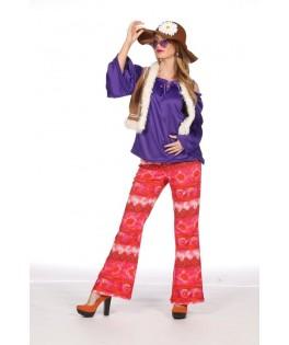 Déguisement Femme Hippie Groovy