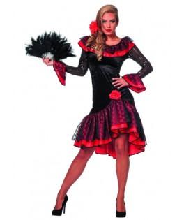 Déguisement Femme Espagnole Flamenco Luxe