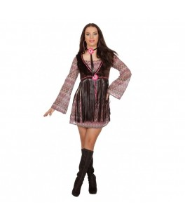 Déguisement Robe Hippie Femme