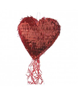 Piñata Coeur Rouge