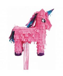 Piñata Licorne Rouge
