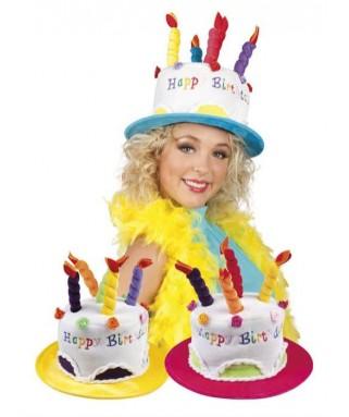 Chapeau Gâteau Joyeux Anniversaire