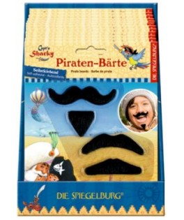 Barbe & Moustache de Pirate