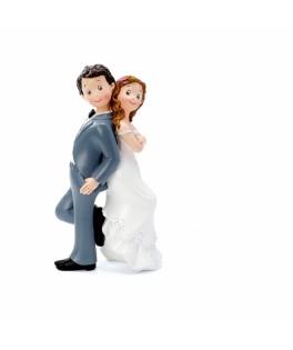 Figurine Couple jeunes mariés